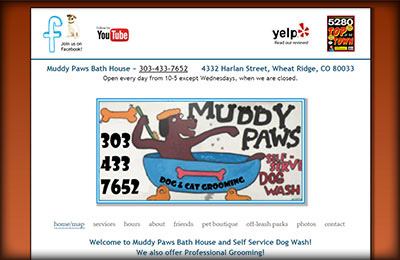 Muddy Paws Bath House