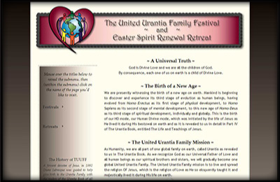 The United Urantia Family Festival and Easter Spirit Renewal Retreat